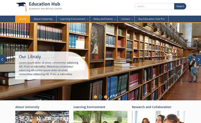 education-hub-free-wordpress-theme