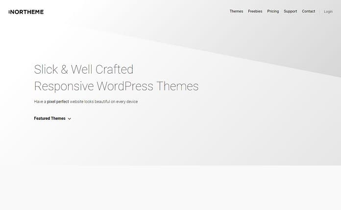 NorTheme - Professional WordPress Theme Store