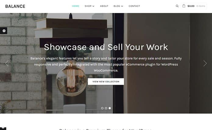 Balance - Premium WordPress eCommerce Theme
