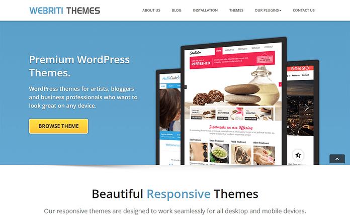 Webriti Themes - WordPress Theme Store