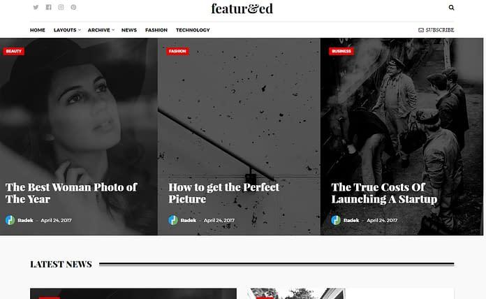 Featured - Powerful Magazine WordPress Theme