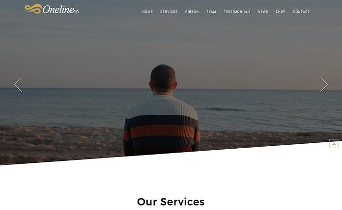 Oneline Lite - Multipurpose One Page WordPress Theme