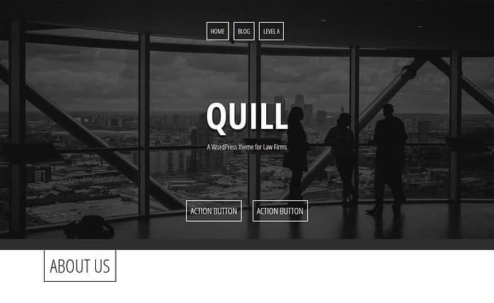 Quill - Free WordPress Law Theme