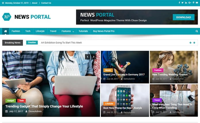 News-Portal-Ultimate-Magazine-WordPress-Theme