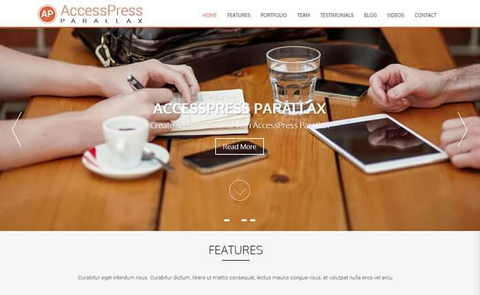 accesspress-prallax-free-WordPress-theme