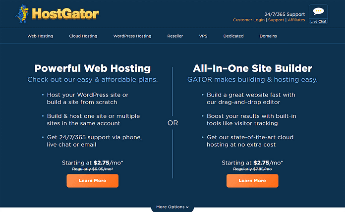 HostGator - Fastest WordPress Hosting