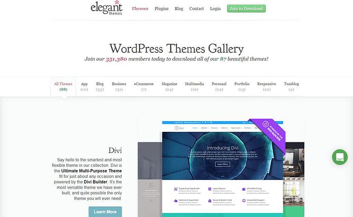 elegant-theme-WordPress-theme-store