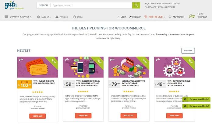YITheme - Best WordPress Plugin Store