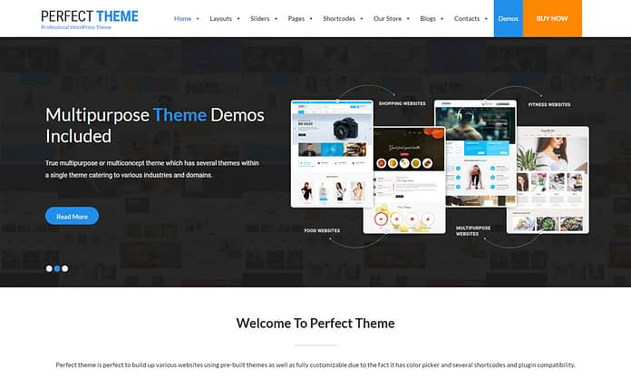 SKTPerfect - Premium Multipurpose WordPress Theme