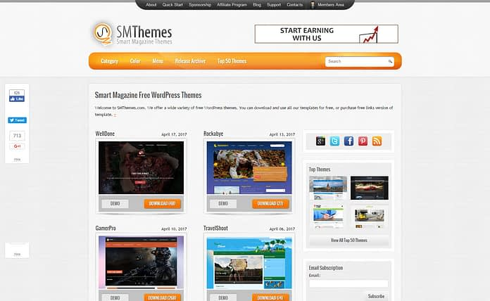 SMThemes - Professional WordPress Theme Store