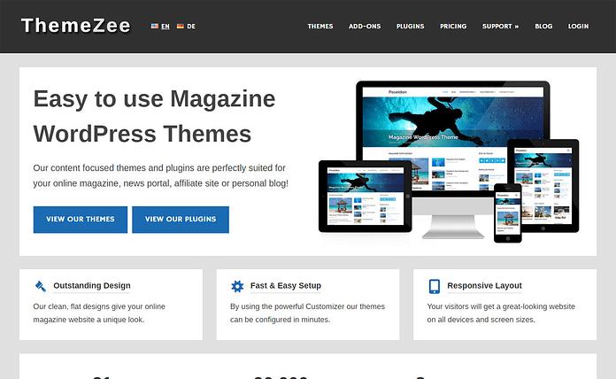 ThemeZee - WordPress Theme Store