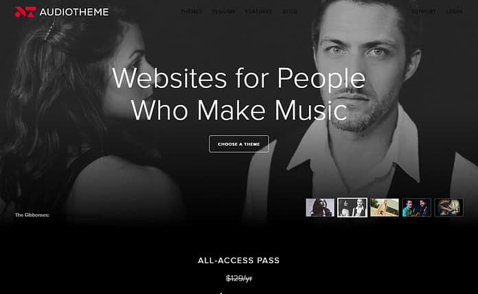 Audio Theme - Excellent WordPress Theme Store