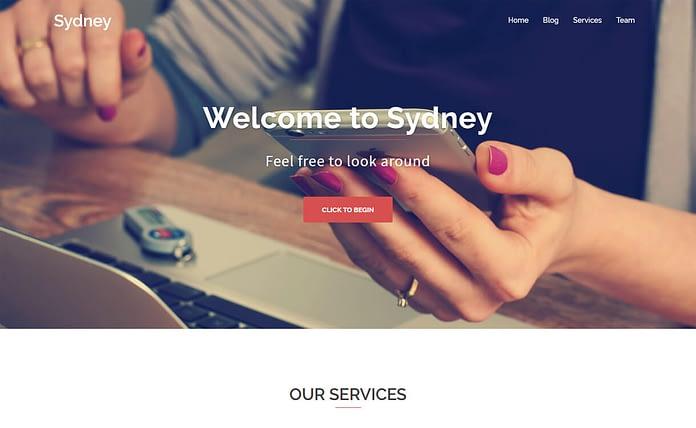 Sydney - Free WordPress Business Theme