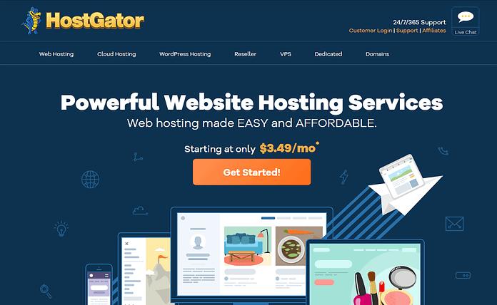 HostGator WordPress Website Hosting Service