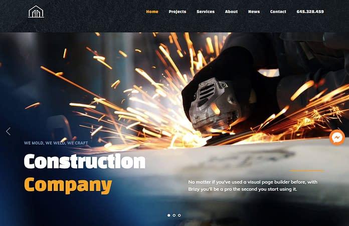 Base Ground - Premium Construction WordPress Theme