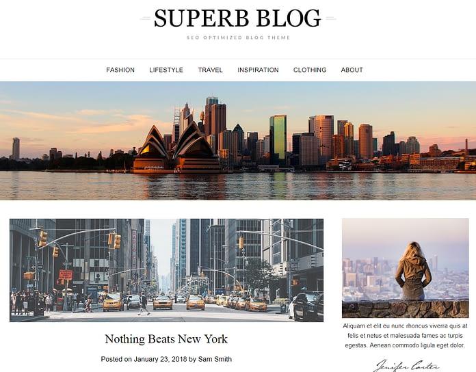 ResponsiveBlogily - Free Blog WordPress Theme
