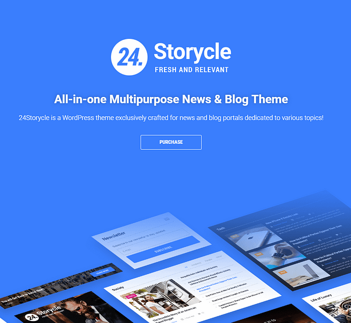 24.Storycle - Multipurpose News Portal Elementor WordPress Theme