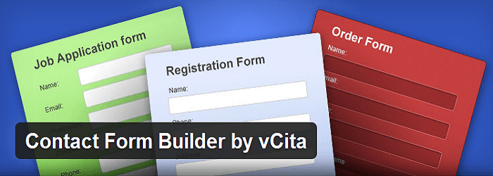 Contact Form Plugin by vCita - 15+ Best Free and Premium WordPress Contact Form Plugins