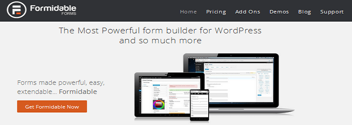 Formidable Forms - 15+ Best Free and Premium WordPress Contact Form Plugins