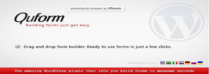 Quform - 15+ Best Free and Premium WordPress Contact Form Plugins
