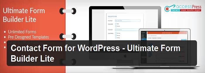 Ultimate Form Builder Lite - Best Free WordPress Form Builder Plugins