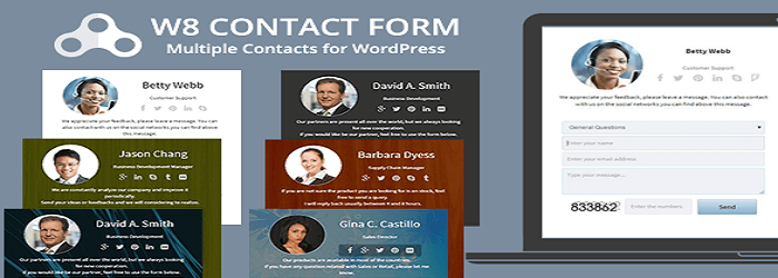 W8 Contact Form - 15+ Best Free and Premium WordPress Contact Form Plugins