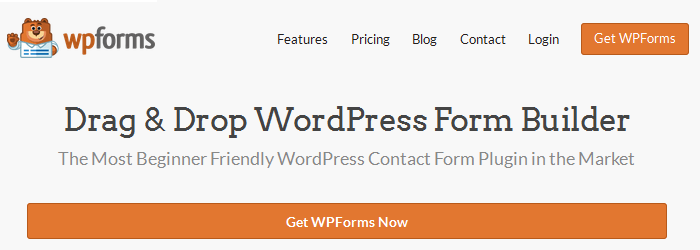 WPForms - 15+ Best Free and Premium WordPress Contact Form Plugins