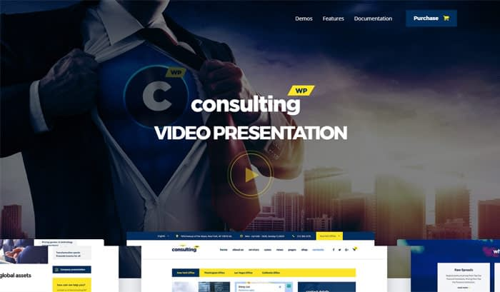 consulting finance wordpress theme 1 - Top 20 Best Selling WordPress Themes in Themeforest 2019