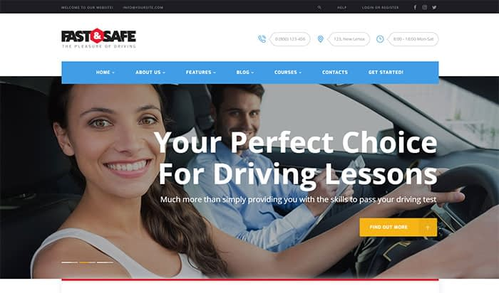 fastsafe - Top 20 Best Selling WordPress Themes in Themeforest 2019