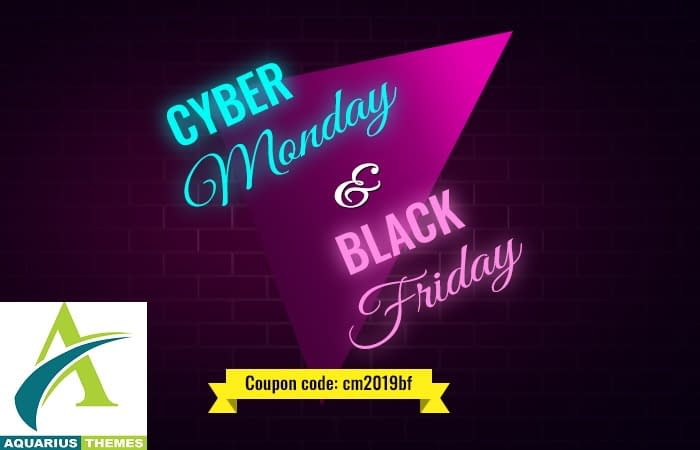 Aquarius Themes - Black Friday Cyber Monday Deal