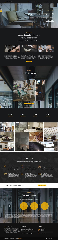 Archi - Best Premium Interior Design WordPress Theme