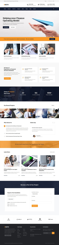 Kroth - Best Premium Consulting WordPress Theme