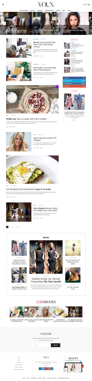 The Voux - Best Premium Responsive WordPress Theme