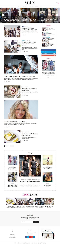 the voux best premium review wordpress theme - 10+ Best Premium Review WordPress Themes