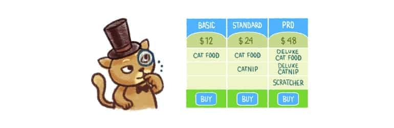 Easy Pricing Table - Best Free WordPress Pricing Table Plugins