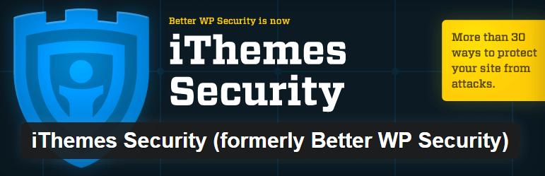 iThemes Security WordPress Plugin