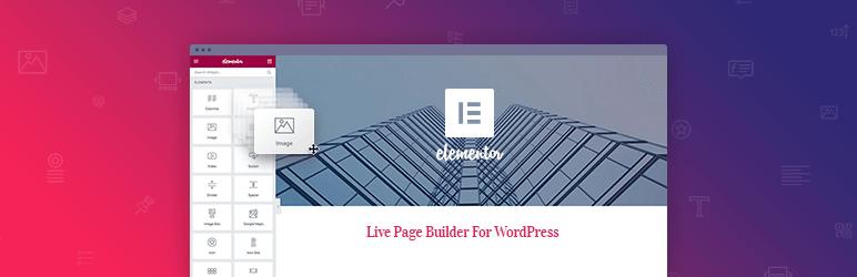 Elementor Page Builder - WordPress Plugins To Enhance Your Web Design