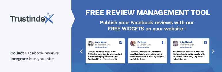 Facebook Reviews and Recommendations Widgets
