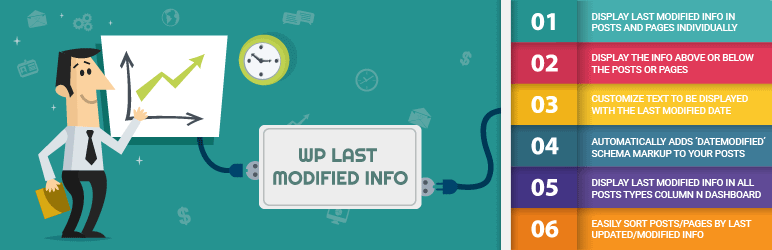 WP Last Modified Info - Best Content Marketing Tool and Plugin