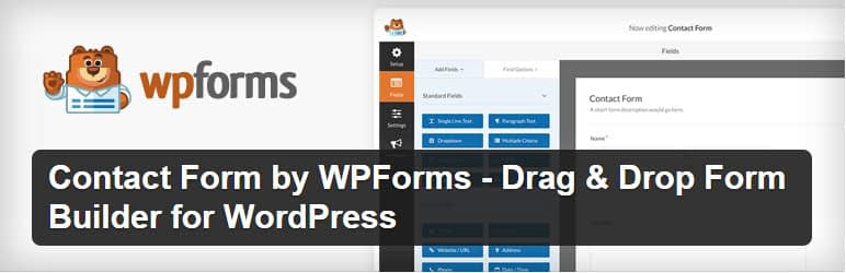 wpforms - Top 5 Best Free WordPress Form Builder Plugins