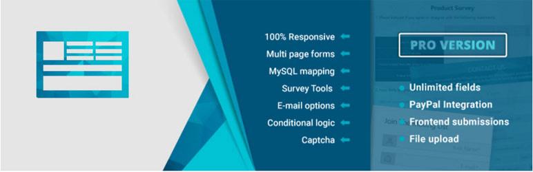 form maker best wordpress form builder plugin 1 - Top 5 Best Free WordPress Form Builder Plugins