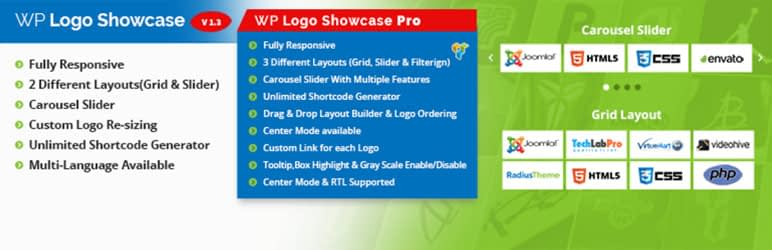 logo slider and showcase wordpress logo gallery plugin - 10+ Free WordPress Logo Showcase Plugins