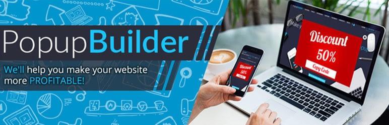 popup builder free wordpress popup plugins 1 - Top 10 Best Free Popup WordPress Plugins