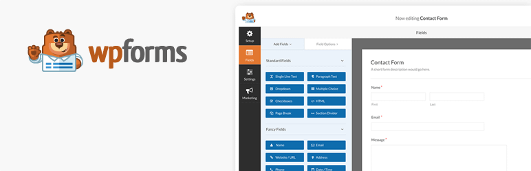 wpforms - WPForms vs Formidable Forms vs Ninja Forms - Which is the Best WordPress Contact Form Plugins?