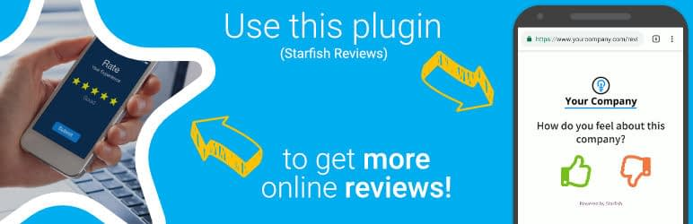 Starfish Reviews - 5+ Best Free WordPress Google Place Review Plugins
