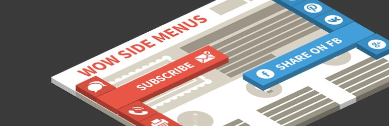 wow side menus best free wordpress floating menu plugin - 5+ Best Free WordPress Floating Menu Plugins