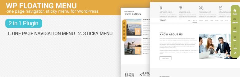 wp floating menu best free wordpress floating menu plugin - 5+ Best Free WordPress Floating Menu Plugins