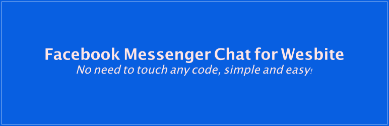 Facebook Messenger Chat for Website