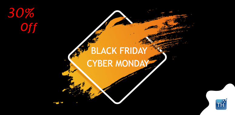 ThemeHunk - Black Friday and Cyber Monday Deal 2019