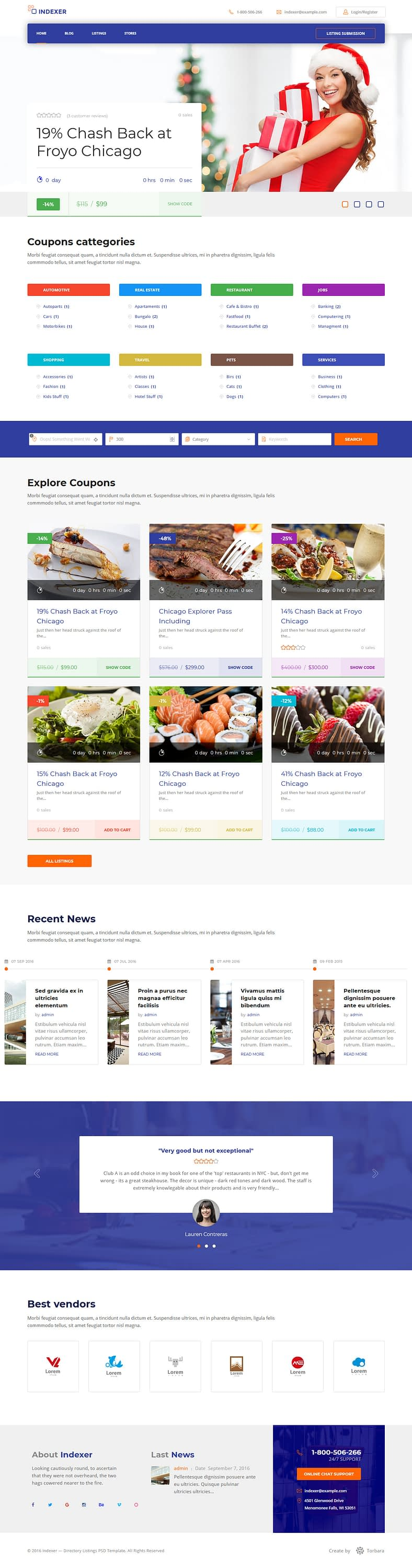 indexer best premium marketplace wordpress theme - 10+ Best Premium Marketplace WordPress Themes